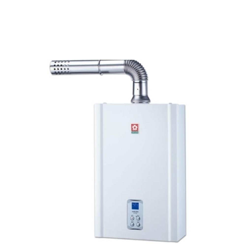 《結帳更優惠》(含全省安裝)櫻花16公升強制排氣(與DH1635A同款)熱水器數位式DH-1635A《來店LG加碼第2件現折94折+12期0利率》