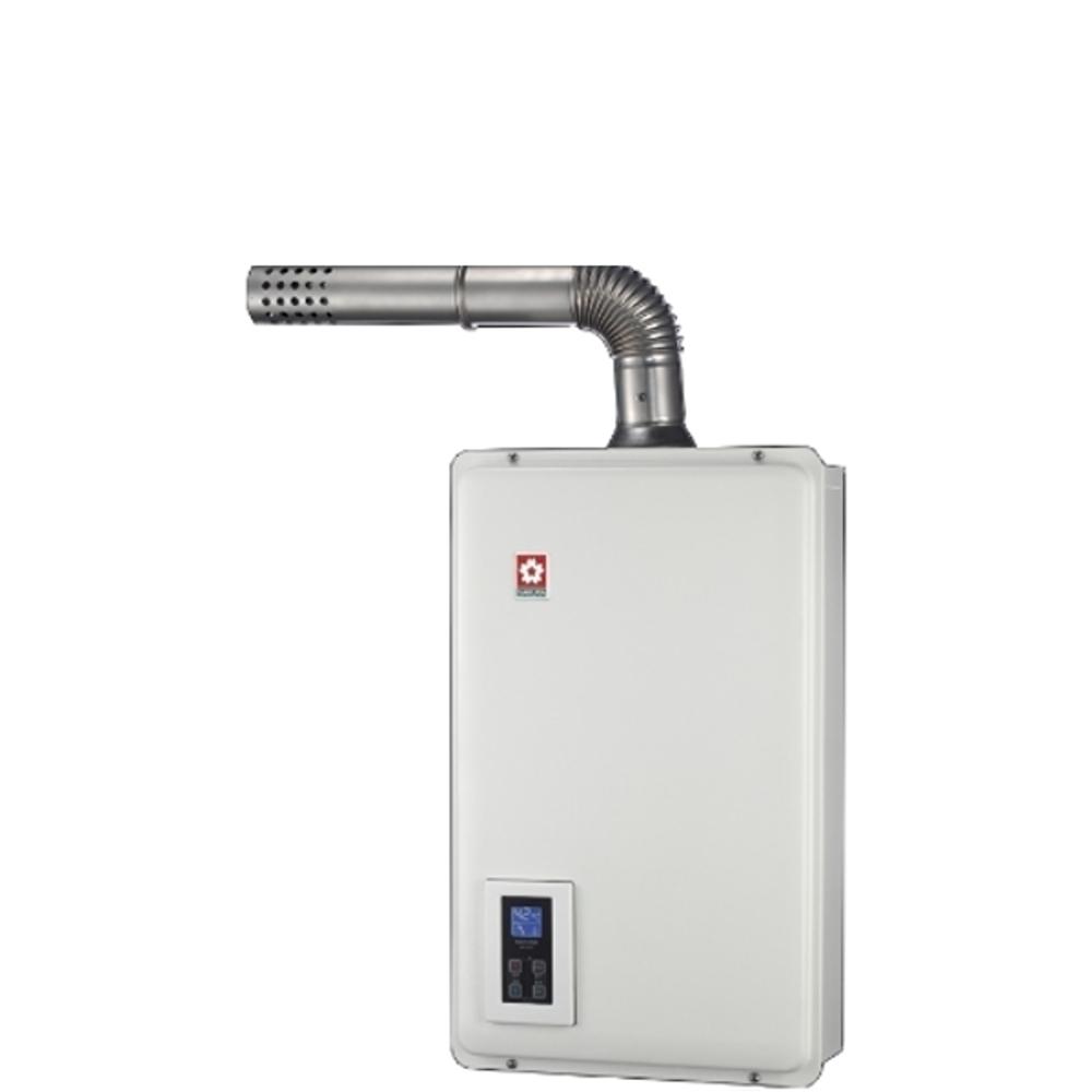 《結帳更優惠》(含全省安裝)櫻花16公升強制排氣(與DH1670A同款)熱水器數位式DH-1670A《來店LG加碼第2件現折94折+12期0利率》