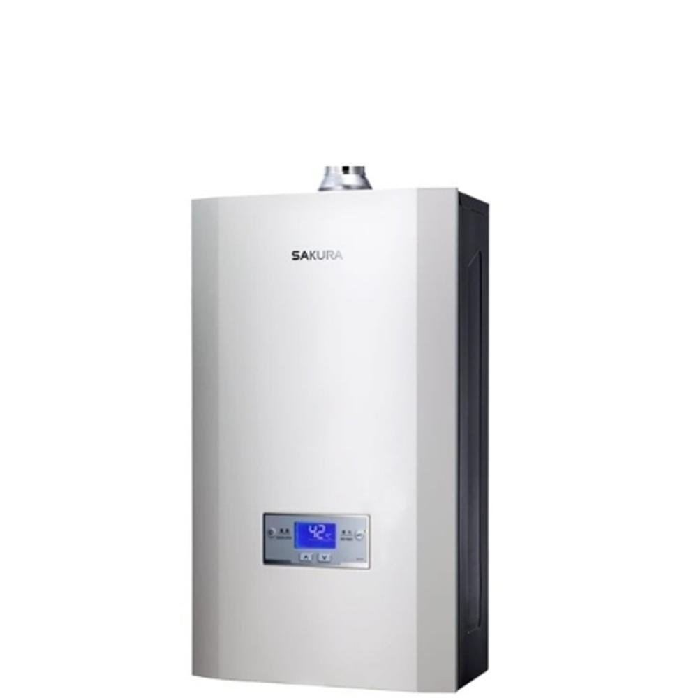 《結帳更優惠》(含全省安裝)櫻花16L強制排氣熱水器渦輪增壓(與DH1693同款)熱水器數位式DH-1693《來店LG加碼第2件現折94折+12期0利率》