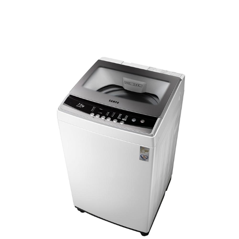 第3件88折+12期0利率★《結帳更優惠》SAMPO聲寶【ES-B08F】直立式洗衣機《7.5公斤,定頻》《來店LG加碼第3件現折88折+12期0利率》