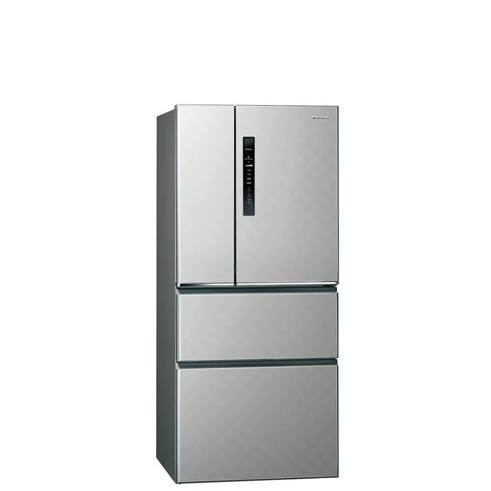 FB分享送500★Panasonic國際牌610公升四門變頻鋼板冰箱絲紋灰NR-D610HV-L《LG第3件88折+12期0利率》