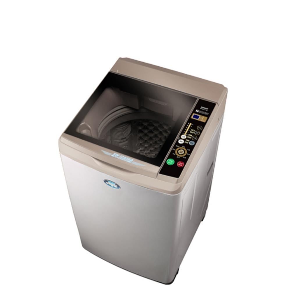 FB分享送500★SANLUX台灣三洋12公斤內外不鏽鋼洗衣機SW-12AS6A《LG第3件88折+12期0利率》
